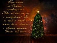 Красотата на Коледа е неповторима! Нека за теб тя да е незабравима! Да си жив и здрав и много да се обичате с твоята любима! Весела Коледа!
