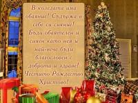 В Коледата има обаяние! Съдържа в себе си сияние! Бъди обаятелен и сияен като нея и най-вече бъди благословен с доброта и здраве! Честито Рождество Христово!