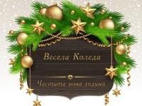 Весела Коледа! Честита нова година!