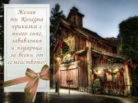 Желая ти Коледна приказка с много сняг, забавления и подаръци за всеки от семейството!