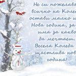Не си пожелавай всичко на Коледа, остави малко и за Нова година, за да има за какво да мечтаеш. Весела Коледа и щастлива нова година!
