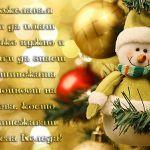 Пожелавам ти да имаш всичко нужно и винаги да знаеш истинската стойност на това, което притежаваш. Весела Коледа!