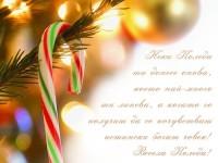 Нека Коледа ти донесе онова, което най-много ти липсва, а когато го получиш да се почувстваш истински богат човек! Весела Коледа!