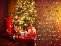 Само Коледа може ни донесе онази топлина, от която всички имаме нужда, но аз ти пожелавам да носиш коледния дух в себе си всеки ден!