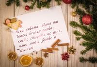 Нека новата година ти донесе всичко онова, което старата не успя